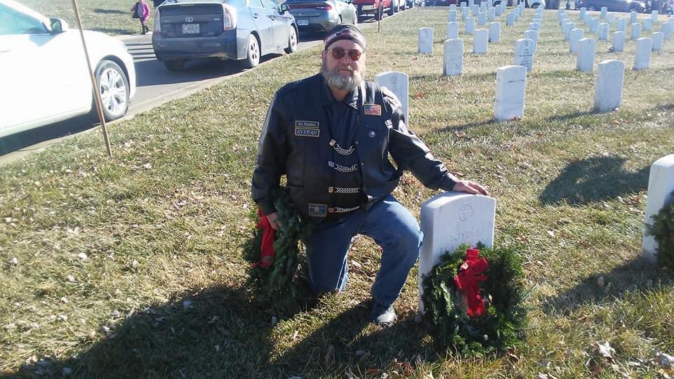 Kansas Veteran Larry Gates