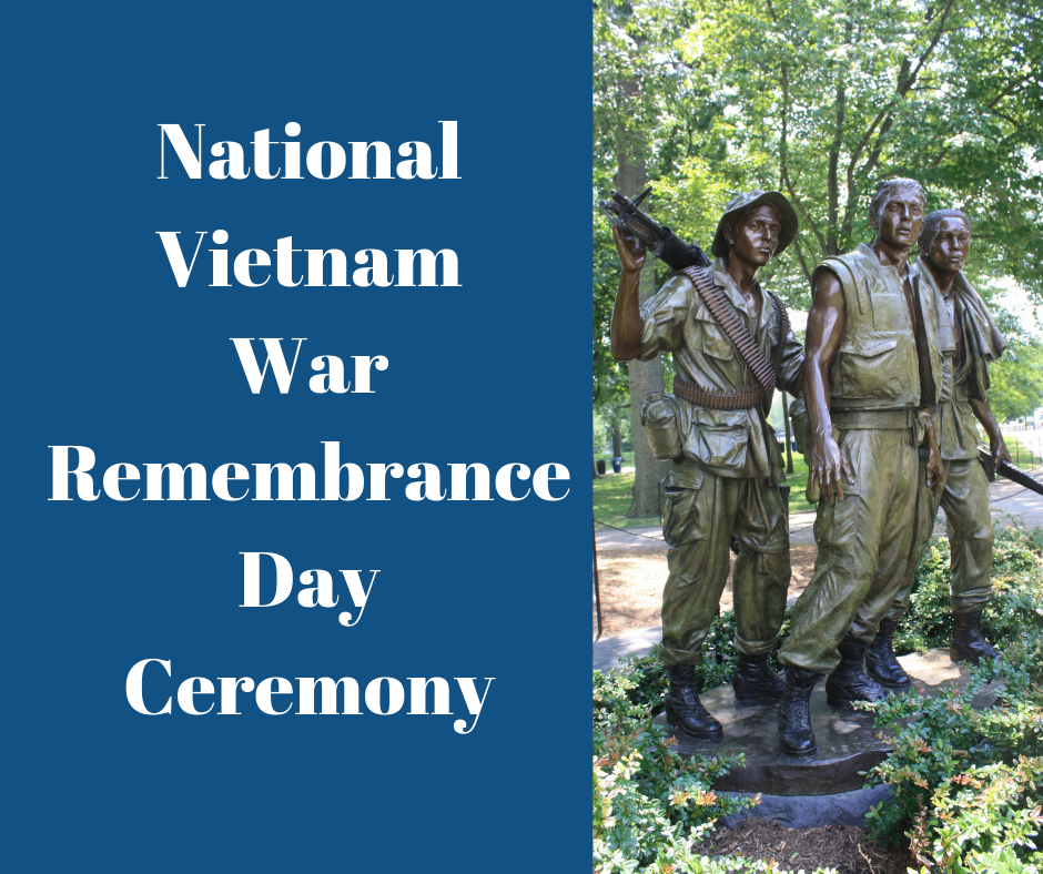 National Vietnam War Veterans Remembrance Day Ceremony