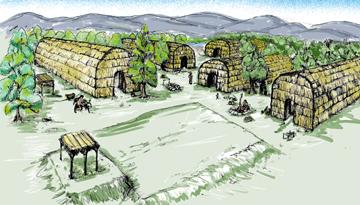 An Osage Village