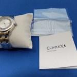 高耐久で高級感がある腕時計「Comtex腕時計 シルバー ステンレス/Comtex」レビュー