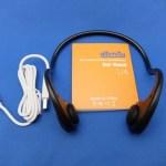 初めての骨伝導「Bluetooth骨伝導ヘッドセット U4/allimity」レビュー