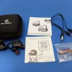 6時間音楽再生でバッテリーが持る両耳ケーブルレスのヘッドセット「Bluetoothヘッドセット Q16/SoundPEATS」レビュー