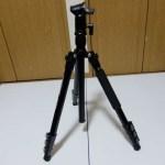 「カメラ三脚 KF-TM2524(BK)/K&F Concept」レビュー ~ヌルヌル動いてどっしり安定~