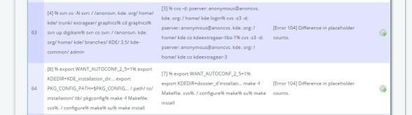 KantanMT Rejects Report Error 104