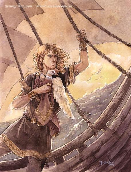 Eärendil the Mariner, by Jenny Dolfen KantanMT