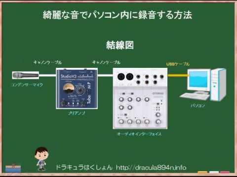 綺麗な音でパソコン内に録音する方法【アフィリエイト】