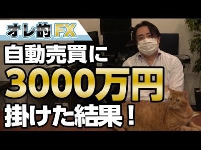 FX、自動売買に3000万円掛けた結果、エライ事になった!