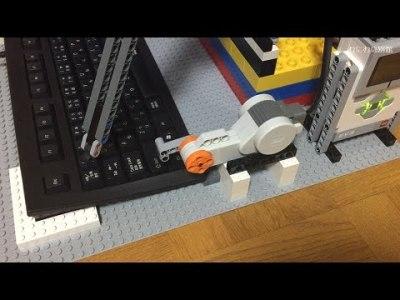 LEGOでキーボードを操作して自動プログラミング【むにむに】
