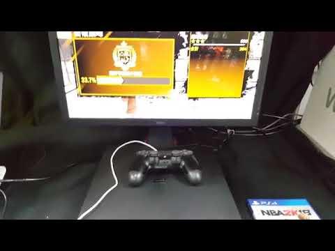 《NBA 2K18》 ジム_メディシンボール_自動的で経験値稼ぐ