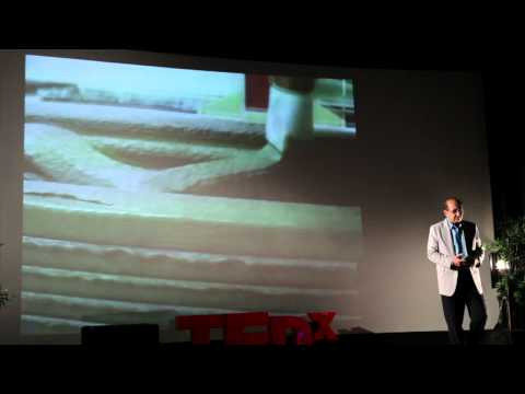 Contour Crafting: Automated Construction:  Behrokh Khoshnevis at TEDxOjai
