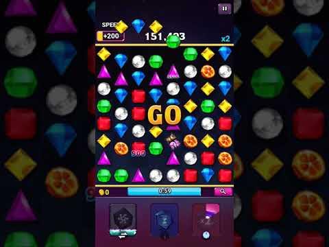 【Androidアプリ】Bejeweled BLITZ デイリーチャレンジ フリーの日でお金稼ぎ放題ヽ(●´ε`●)ノ