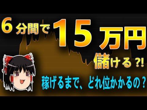 【バイナリーオプション】6分間で、+15万円儲ける?! 稼げるようになるまでどの位?【初心者、シグナルツール】