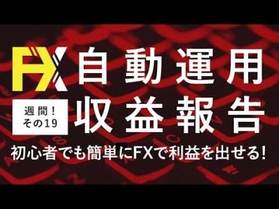 FX自動売買を超安定的にやる方法!収益報告19週目【安定投資】