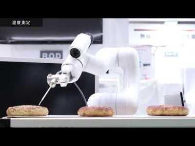 温度測定&分注作業の自動化 by Collaborative robot COBOTTA