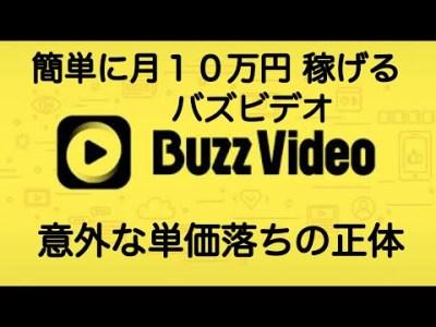 バズビデオ <単価落ち>の意外な正体 稼ぎ方 2020年版【トップバズ Buzz Video Top Buzz】