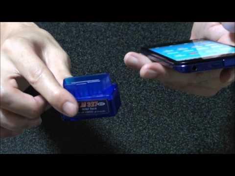 OBD ELM327 mini  bluetooth スキャンツール 設定方法 使い方も簡単