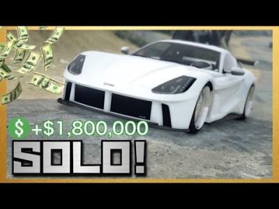 【最短4分】最大180万ドル稼ぐ簡単な1人お金稼ぎ【PS4・XB1】