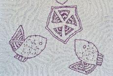 First Kantha Sample detail