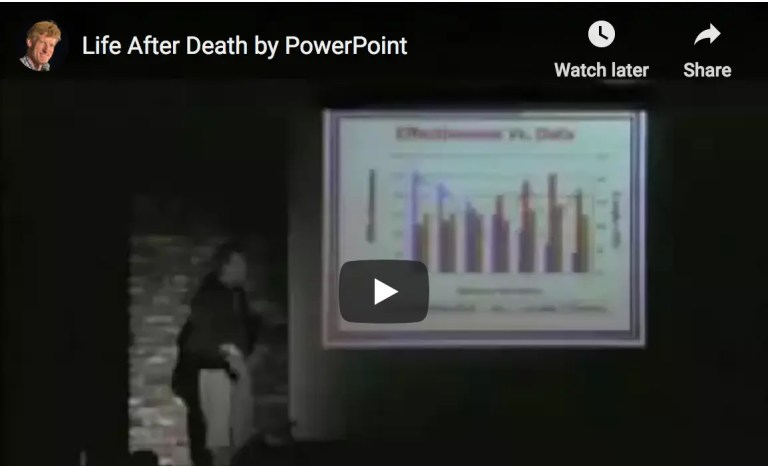 How not to use PowerPoint