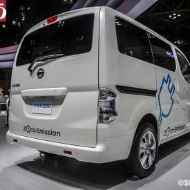 Nisan Concept eNV200 con cero emisión de CO2