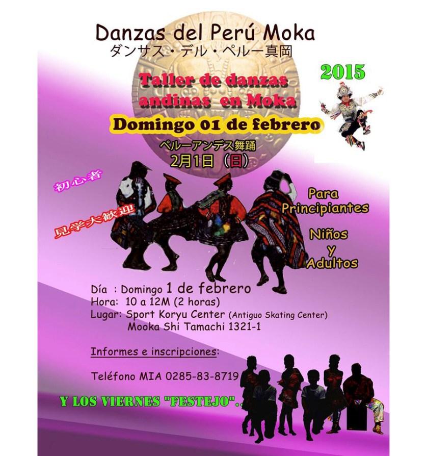 Danzas del Perú Moka