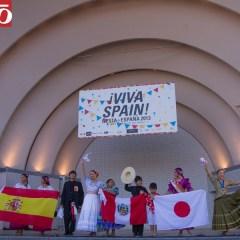 Fiesta de marinera en el Festival de España
