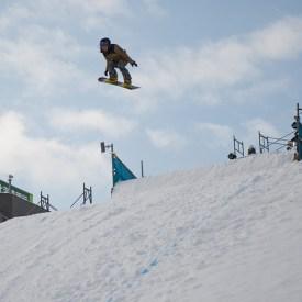 Pistas para snowboarders y freestyle skiers