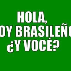 Hola, soy brasileño ¿y vocé?