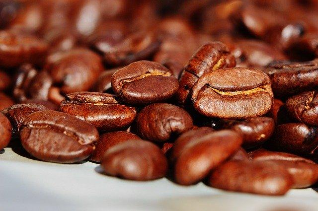 verschillende koffiebonen