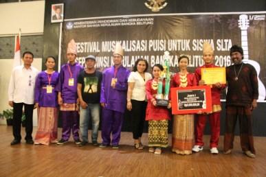 pemenang 1 SMA Setia Budi Sungailiat