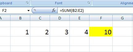 Mengenal fungsi sum