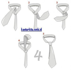 cara pakai dasi kerja