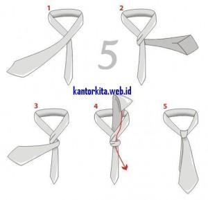 gimana caranya memakai dasi