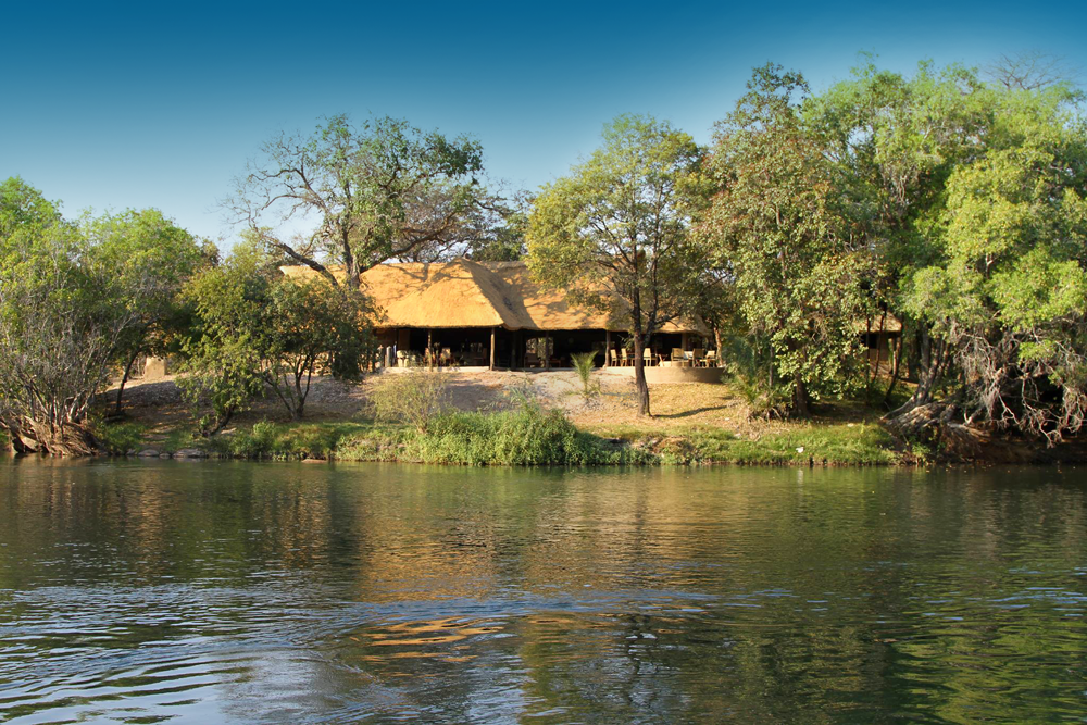 Kantunta Lodge on the Kafue River in Zambia