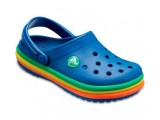 Chancletas Niño Crocs CB Rainbow Band K