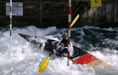 6 mal Edelmetall für den deutschen Kanu-Slalom Nachwuchs bei der Heim-EM