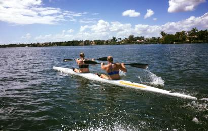 Kanu-Rennsport: Damen Trainingslager in Florida