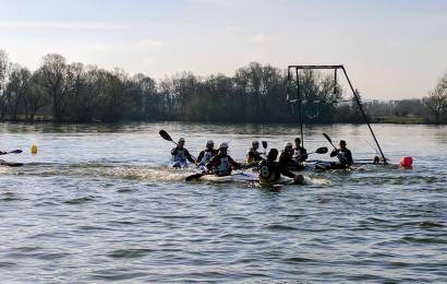 Trainingslager des Kanu-Polo Nationalkader der U21 Herren und der Damen