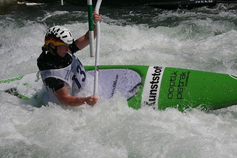 Kanu-Slalom WM-Qualifikation 2017 im Kanupark Markkleeberg