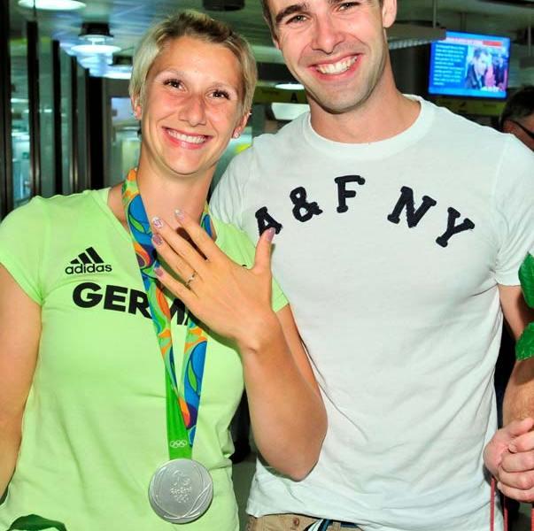 Sabrina Hering – Erst Olympia Silber, dann Heiratsantrag vom Freund Paul