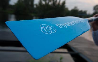 Die Drachenboot-Renngemeinschaft des Landes Kanu-Verbandes NRW hat einen neuen Sponsor
