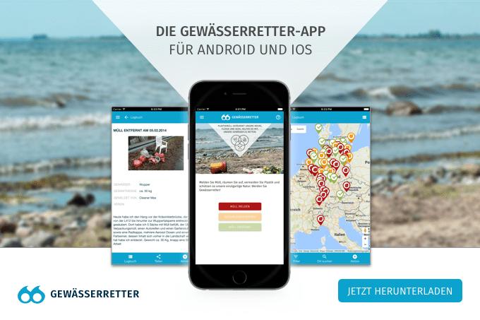 """Der DKV präsentiert die Naturschutzinitiative """"Gewässerretter"""""""