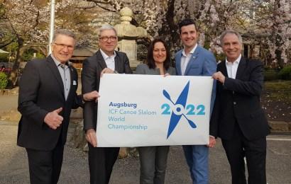 Die Kanu-Slalom WM 2022 kommt nach Augsburg