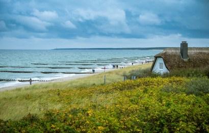 Eine Kanu- und Kajaktour um die Halbinsel Darß