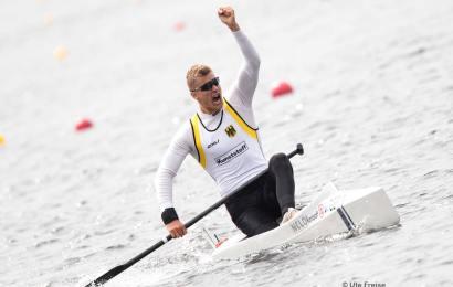 Olympiasieger Jan Vandrey ist Facebook Testimonial für Dräger