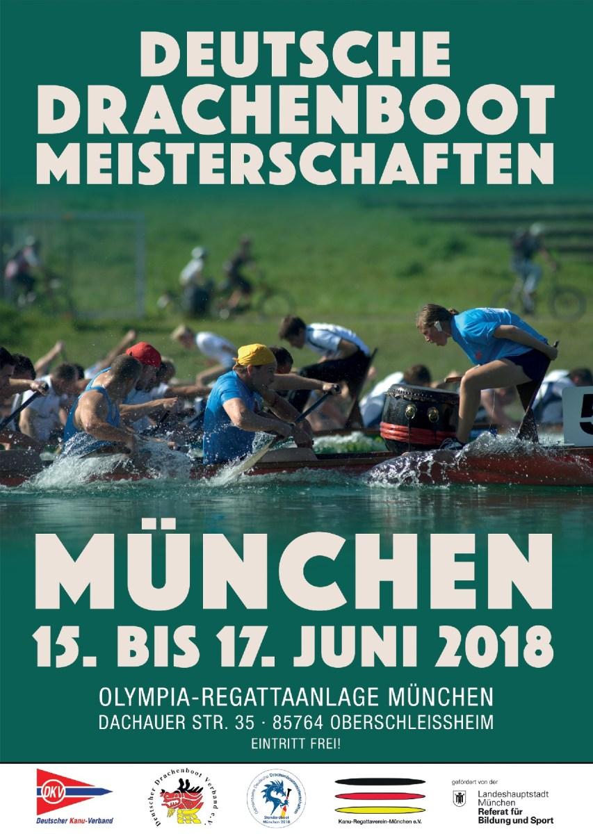 Alle Infos zu Gemeinsamen Deutschen Drachenboot Meisterschaft 2018