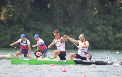 Oeltze und Kretschmer paddeln Weltrekord bei der EM in Belgrad