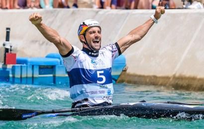 Beim Sydney International Whitewater Festival 2019 treffen sich die besten Kanu-Slalom Paddler der Welt