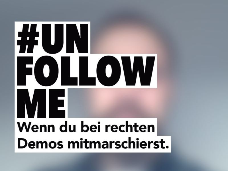 #unfollowme – Kanu zum Frühstück setzt ein Zeichen gegen Rechts