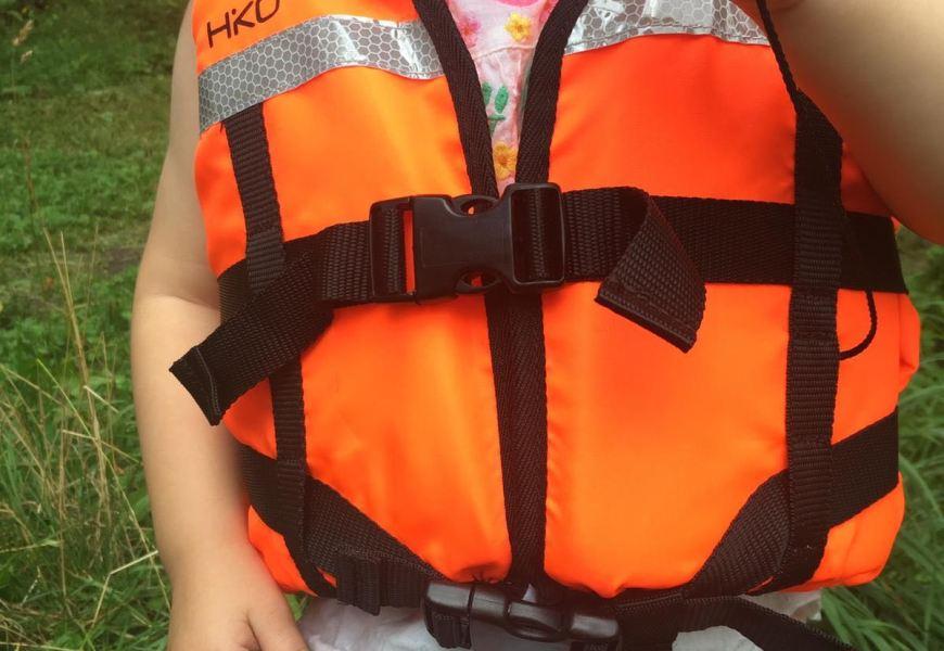 Die Kinder-Schwimmweste HIKO Baby Life Jacket im Test